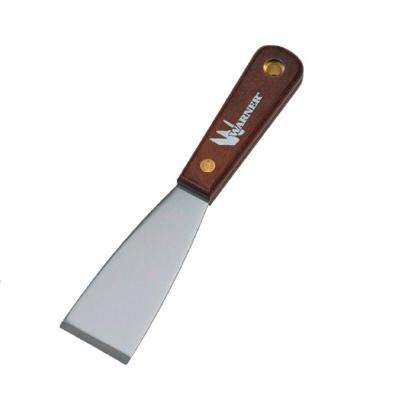 1-1/2 in. Stiff Putty Knife with Rosewood Handle