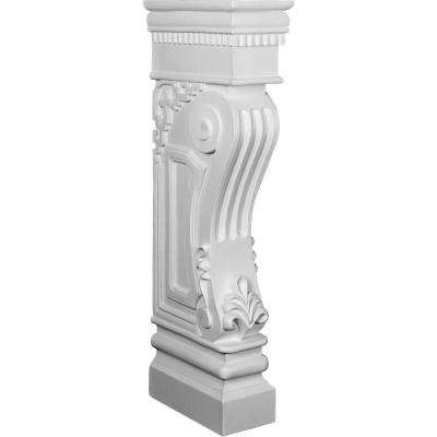 12 in. x 6-3/8 in. x 34-1/8 in. Polyurethane Rutledge Surround Moulding
