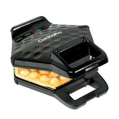 Bubble Waffle Maker in Black