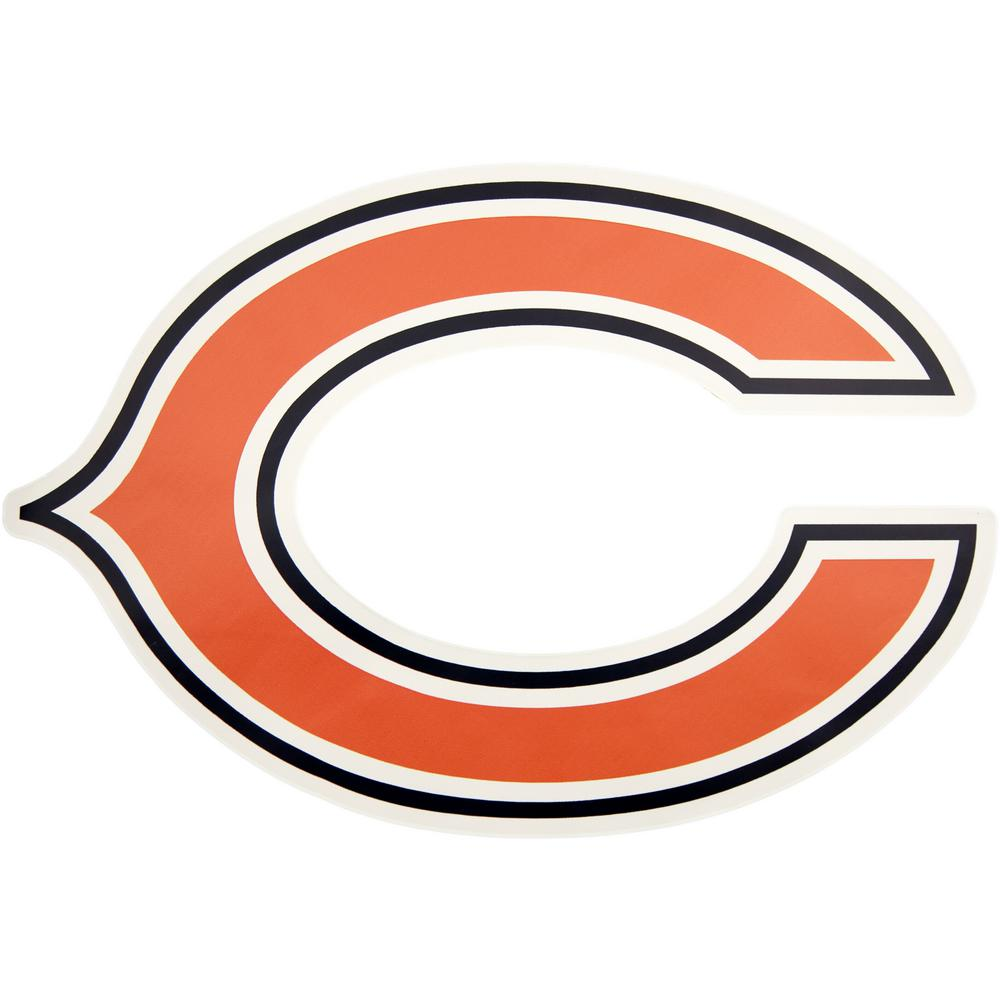 Applied Icon NFL Chicago Bears Outdoor Logo Graphic- Large ...