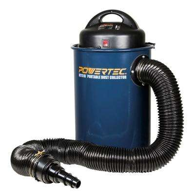 1.5 HP Portable Dust Collector Vacuum with 13 Gallon Capacity
