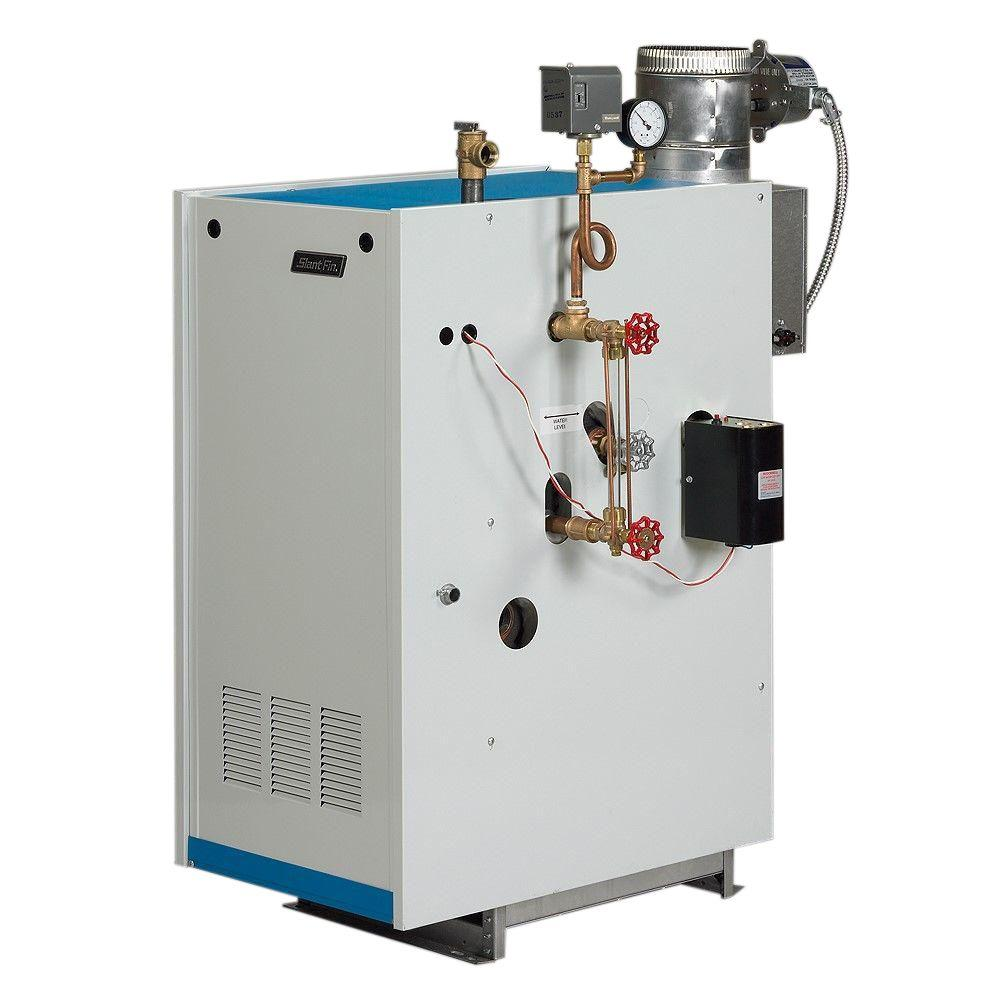 Slant/Fin Galaxy Natural Gas Steam Boiler with 160,000 BTU Input ...