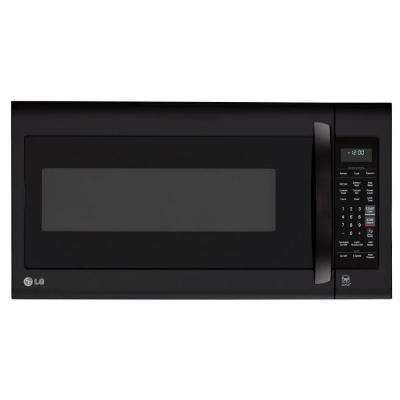 2.0 cu. ft. Over the Range Microwave in Smooth Black with EasyClean