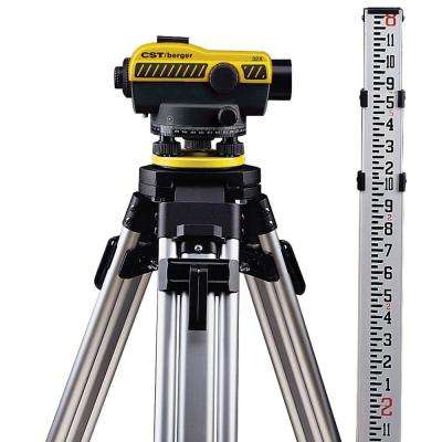 250 ft. 32X SAL Series Automatic Optical Level Kit