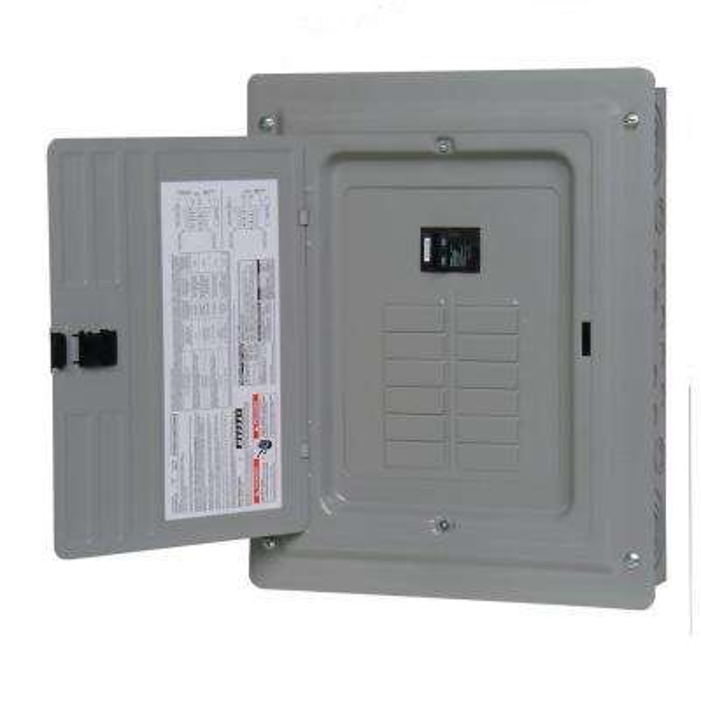 100-Amp 12-Space 24-Circuit Main Breaker Load Center
