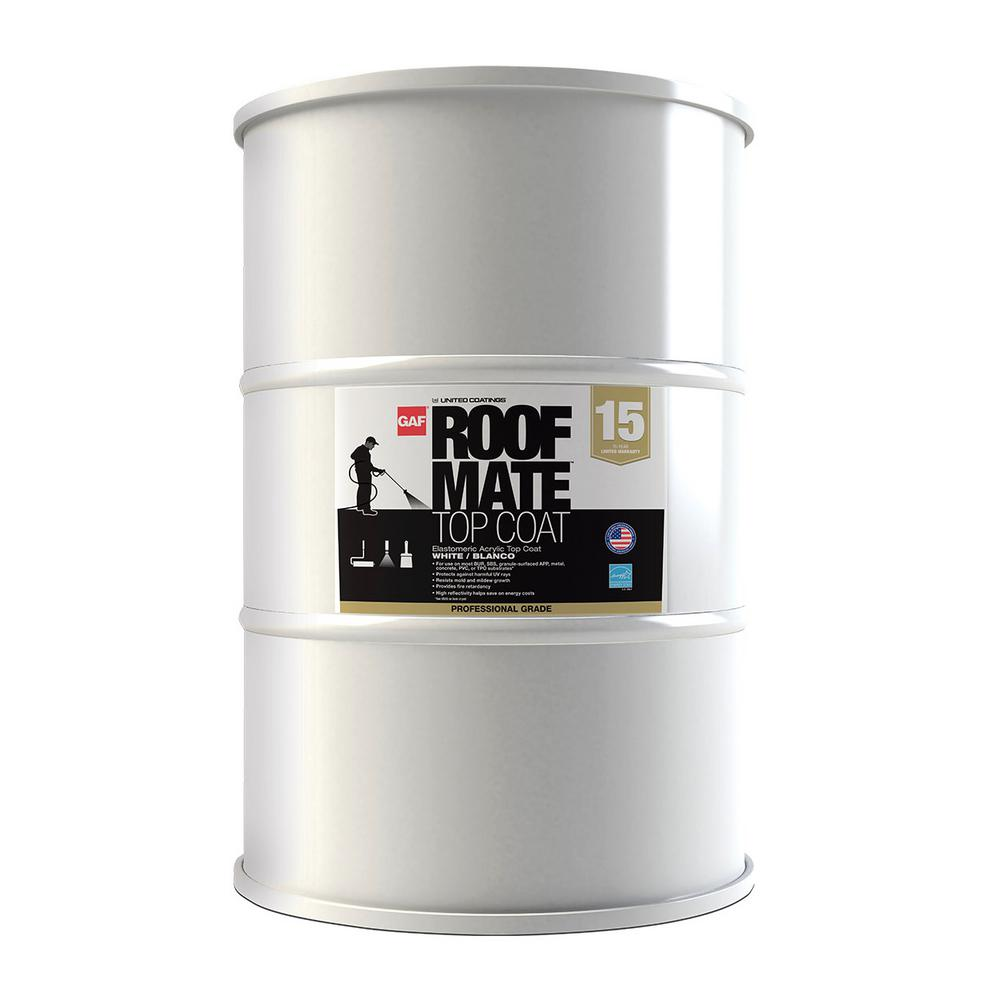 Gaf Roof Mate 54 Gal Tan Acrylic Reflective Roof Coating