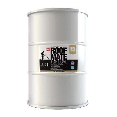 54 Gal. Roof Mate Top Coat White Roof Coating