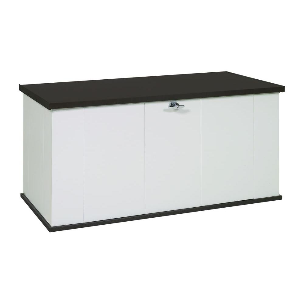 Two Tone Steel Storage Chest