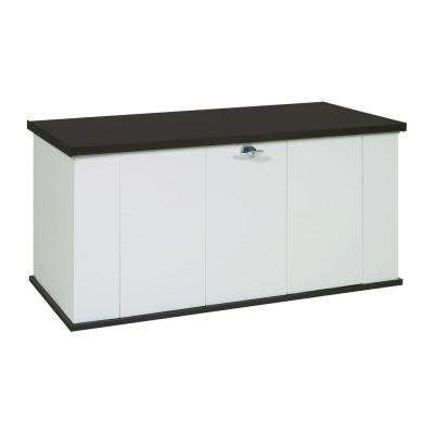 Storboss Bull Dog 135-Gal. Two Tone Steel Storage Chest