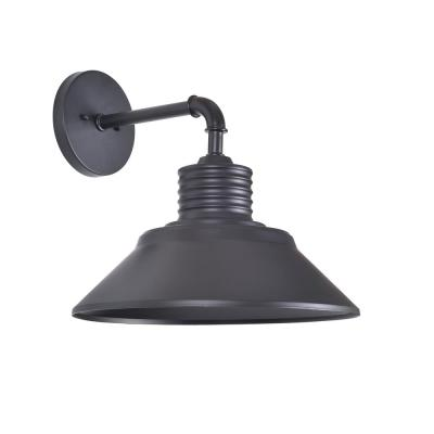 Sully 6 in. Black Rustic Sconce