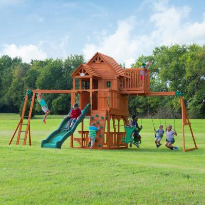 Skyfort II All Cedar Swing Set