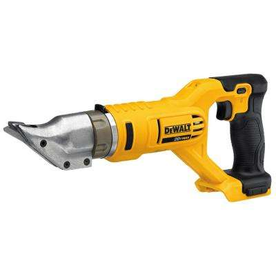 20-Volt MAX Lithium-Ion Cordless 18-Gauge Swivel Head Shears (Tool-Only)