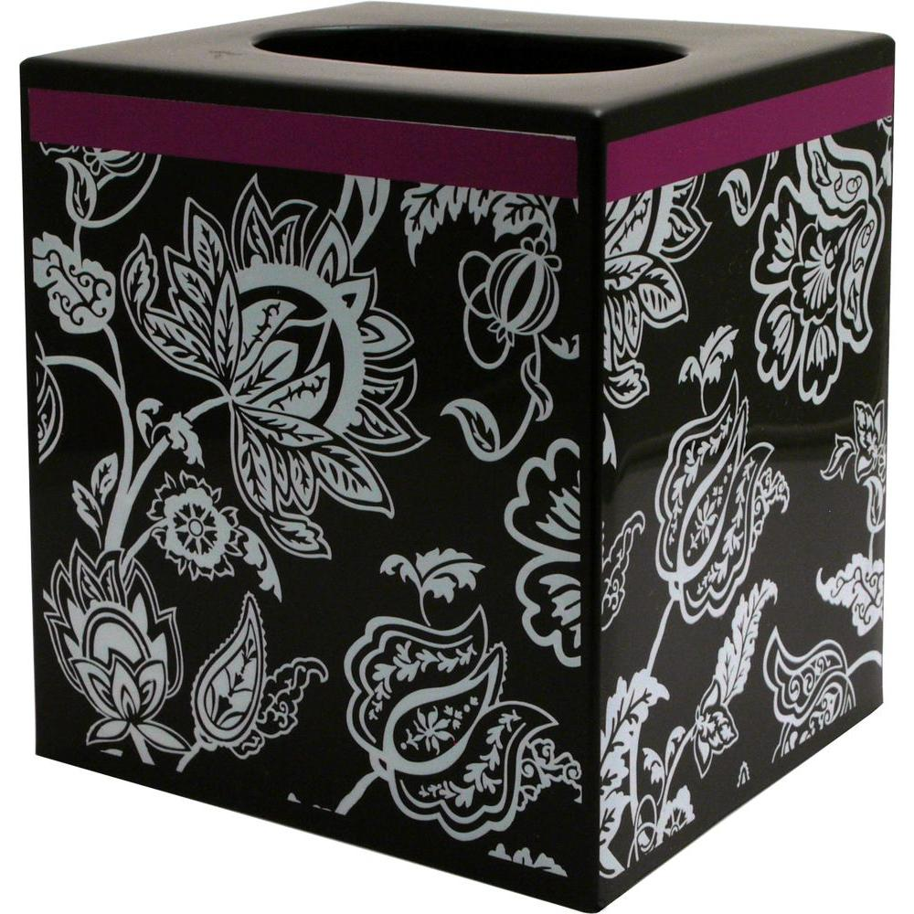 Purple Tissue Box Camera DVR with 30 Hour Battery