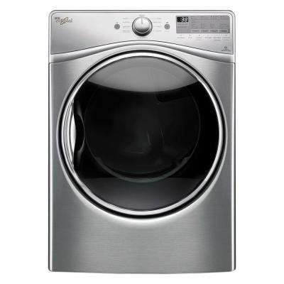 7.4 cu. ft. 240 -Volt Stackable Diamond Steel Electric Vented Dryer with Advanced Moisture Sensing, ENERGY STAR