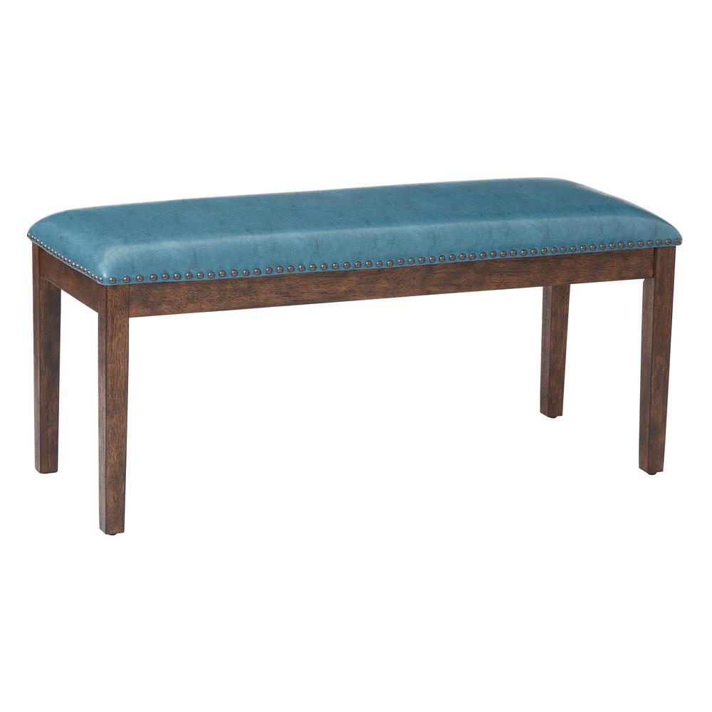 Blue/Teal Langston Bench