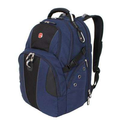 18.5 in. Blue and Black ScanSmart Backpack