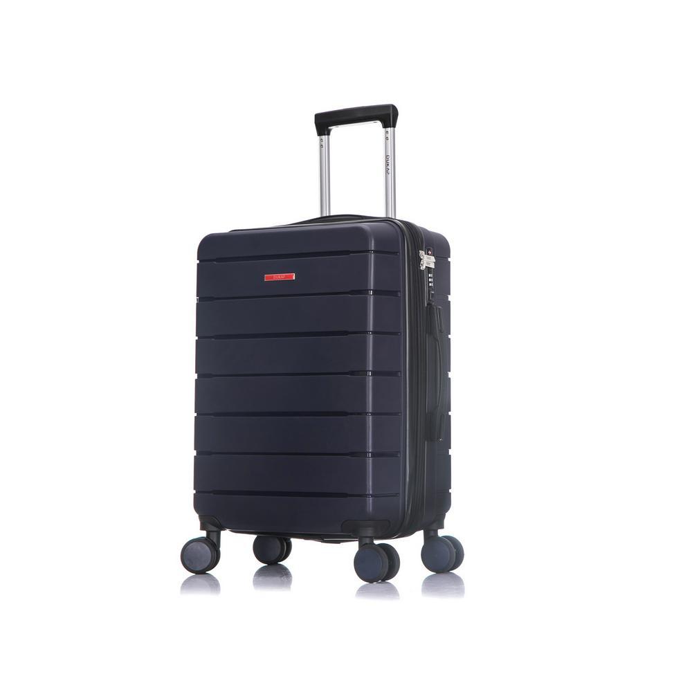 DUKAP Definity 20 in. Blue Lightweight Hardside Spinner Carry On DKDEF00S-BLU