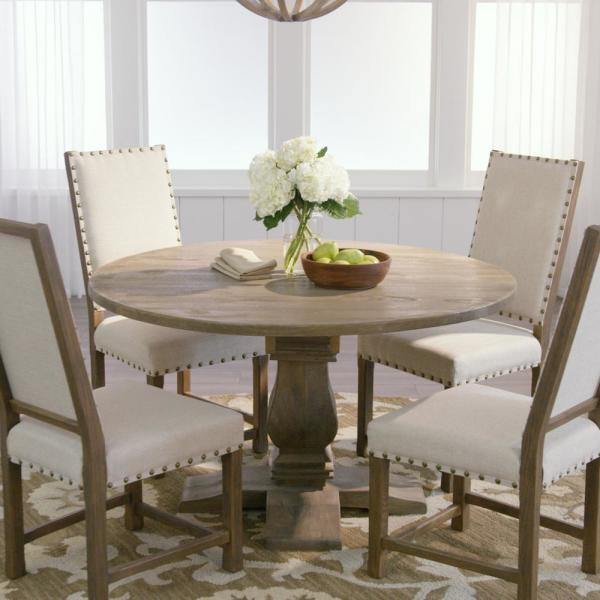 Dining Room Kitchen Tables: Home Decorators Collection Aldridge Antique Grey Round