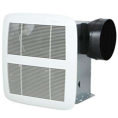Genial QTX Series Very Quiet 80 CFM Ceiling Exhaust Bath Fan, ENERGY STAR Qualified