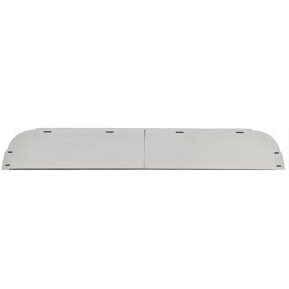 Builders Edge 6 in. x 37 5/8 in. J-Channel Back-Plate for Window Header in 030 Paintable