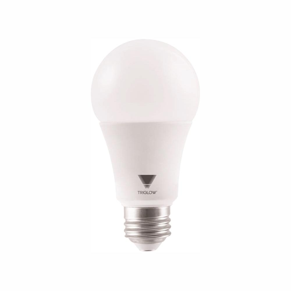 1600 Lumens and E26 Base 15-Watt 3500K A19 LED DIMMABLE Bulb UL Listed and Energy Certified Deco White Color Pack of 10 TriGlow T94443-10 100W Equivalent