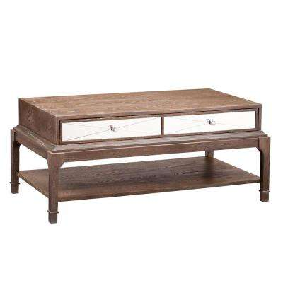 Lily Burnt Oak Coffee Table