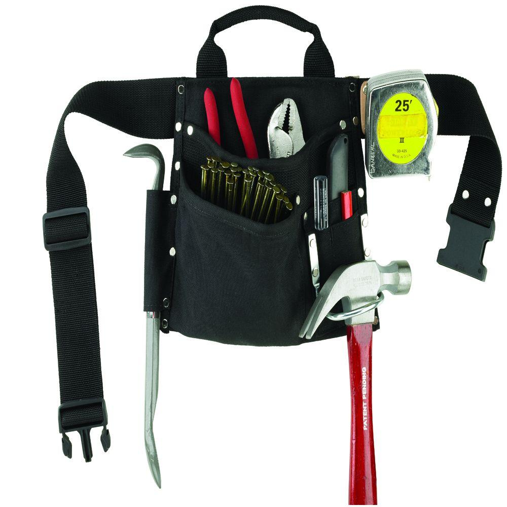 Husky 6-Pocket Cordura Single-Side Work Apron