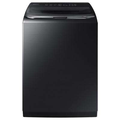 5.2 cu. ft. High-Efficiency Top Load Washer with Activewash in Black Stainless Steel, ENERGY STAR