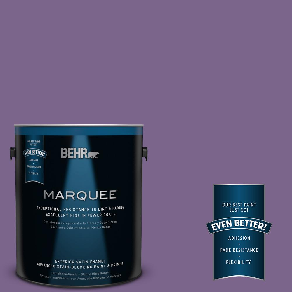1-gal. #M570-6 Notorious Satin Enamel Exterior Paint