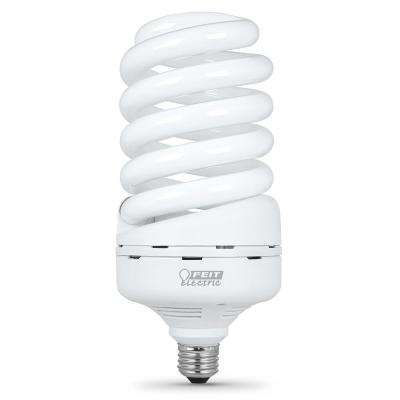 65-Watt Soft White A21 Spiral CFL Light Bulb