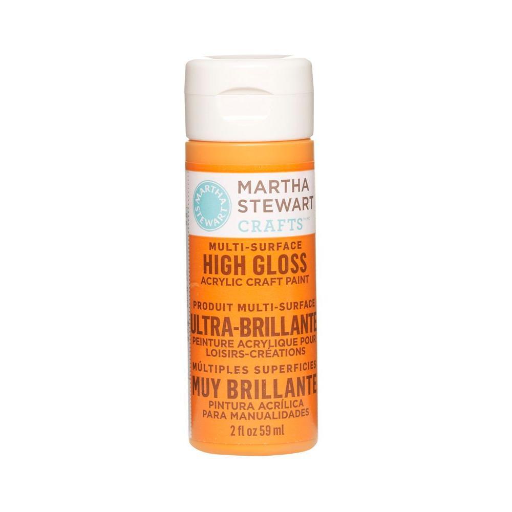 Martha Stewart Crafts 2-oz. Marmalade Multi-Surface High Gloss Acrylic Craft Paint