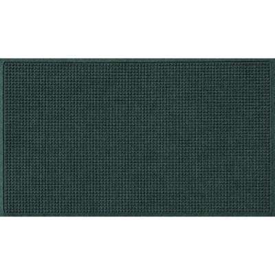Evergreen 36 in. x 60 in. Squares Polypropylene Door Mat