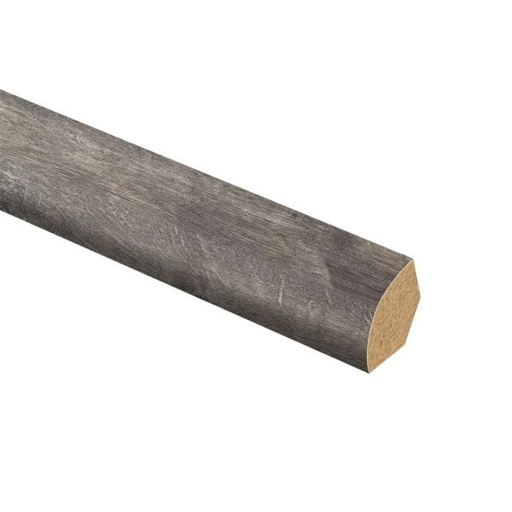 Milwick Gray Oak 5/8 in. T x 3/4 in. Wide x 94 in. Length Laminate Quarter Round Molding