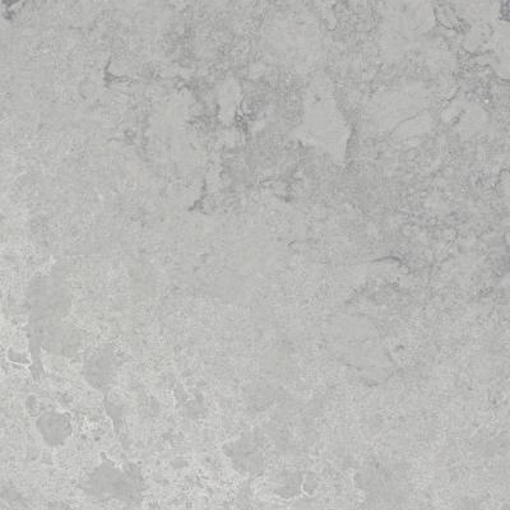 10 in. x 5 in. Quartz Countertop Sample in Airy Concrete with Rough Finish