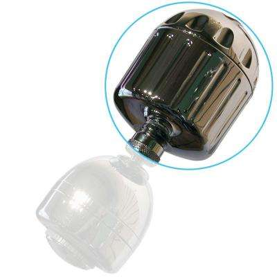 High Output2 3-1/2 in. Shower Filter in Chrome
