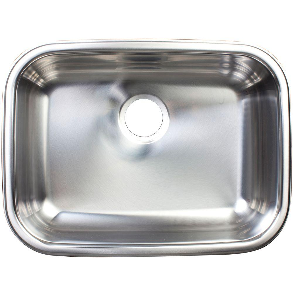 Franke undermount stainless steel 0 hole single - Kitchen sink rim ...