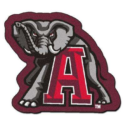 NCAA University of Alabama Red 3 ft. x 4 ft. Specialty Area Rug