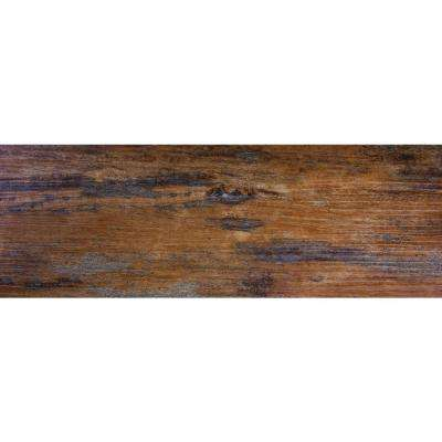 Distressed Tuscan 6 in. x 36 in. Glue Down Vinyl Plank Flooring (36 sq. ft. / case)