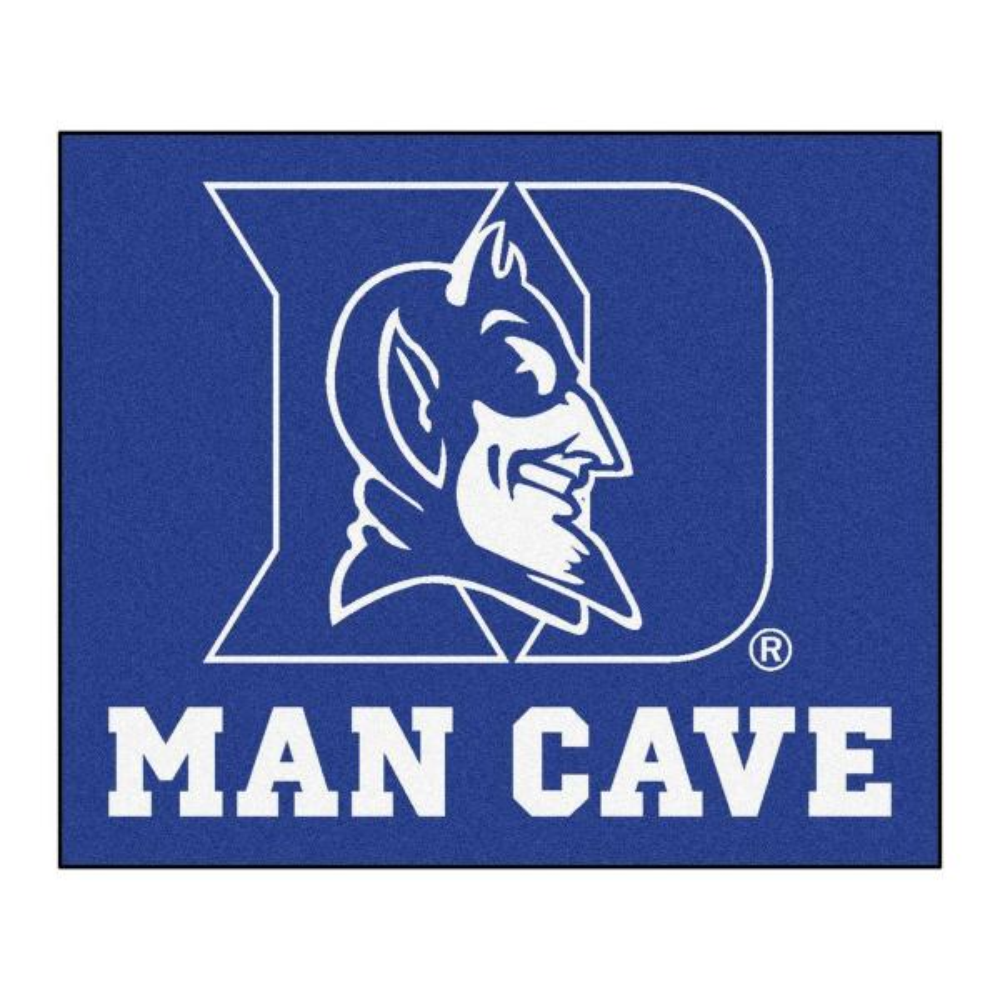 Duke University Blue Man Cave 5 ft. x 6 ft. Area Rug