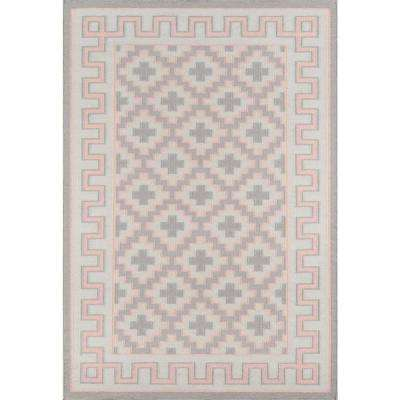 Brookline Pink 3 ft. 6 in. x 5 ft. 6 in. Accent Rug