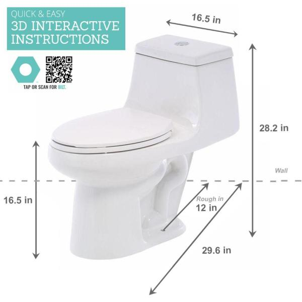 Spuellkasten Opal Deep Hanging White WC Toilet Box Water Basin NEW
