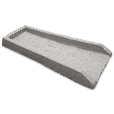 21-1/2 in. Poly Grayish-Beige Splash Block