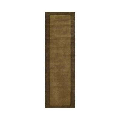 Regency Chocolate 3 ft. x 9 ft. Runner Rug