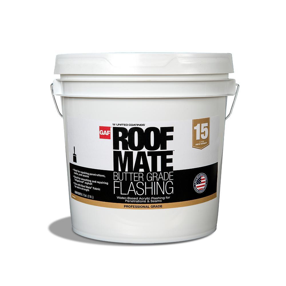 Light Gray Acrylic Roof Mate Flashing