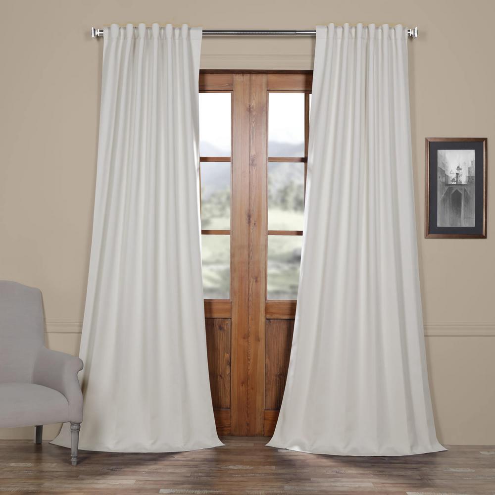 Black Room Darkening Curtains.Exclusive Fabrics Furnishings Smokey Cream Beige Blackout Room Darkening Curtain 50 In W X 84 In L