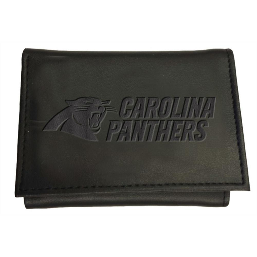 Hot Team Sports America Carolina Panthers NFL Leather Tri Fold Wallet  for cheap