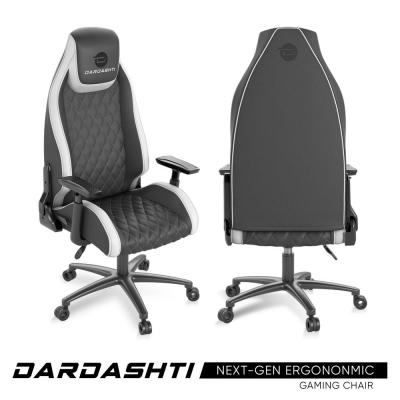 Dardashti Gaming Chair - Commercial Grade, Ergonomic, Arctic White