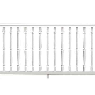 Williamsburg 6 ft. x 36 in. White Pre-Built Handrail