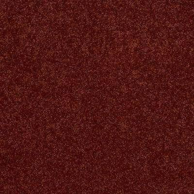 Carpet Sample - Cressbrook III - In Color Coral 8 in. x 8 in.