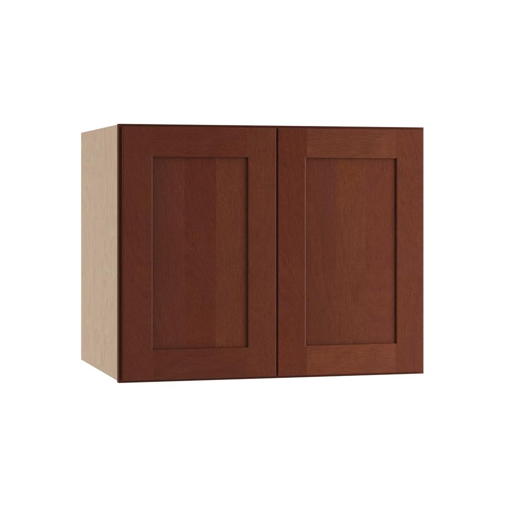 Home decorators collection kingsbridge assembled 30x24x24 for Double kitchen cabinets